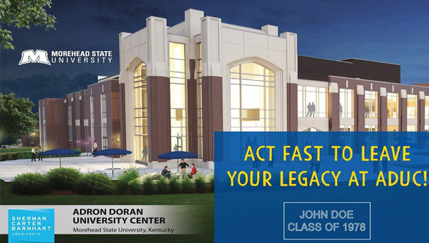Order Your Alumni Legacy Brick at ADUC! Image