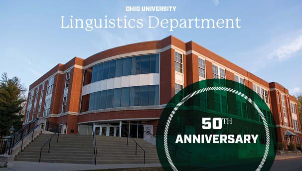 Celebrating 50 Years: Linguistics at OHIO Image