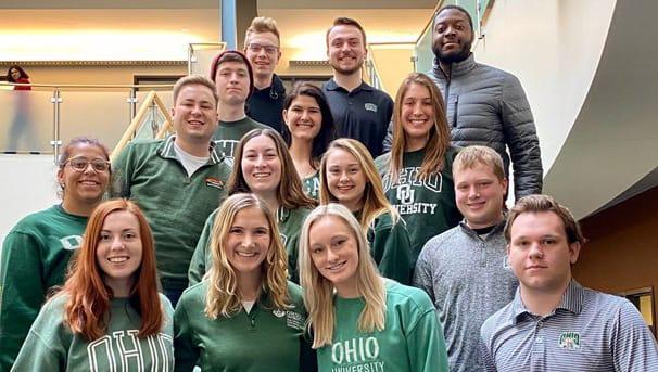 photo of 2020 WERC Design contestants from Ohio University
