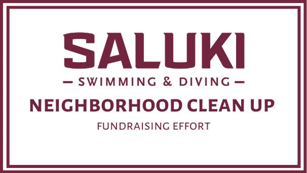 Saluki Swimming and Diving - Give Back Image