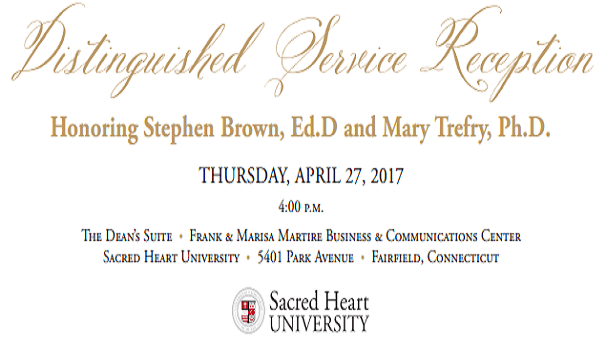 Honoring Drs. Stephen M. Brown and Mary G. Trefry Image