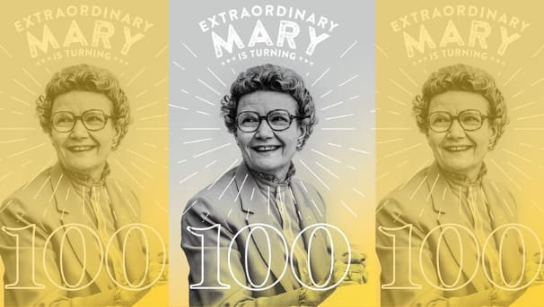 Mary Bruemmer's 100th Birthday Challenge Image