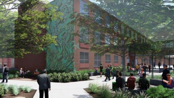 WSHS Community Courtyard Maintenance Fund Image