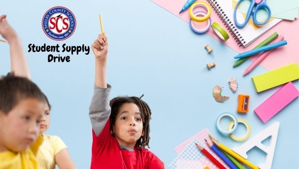 SCS Student Supply Drive Image