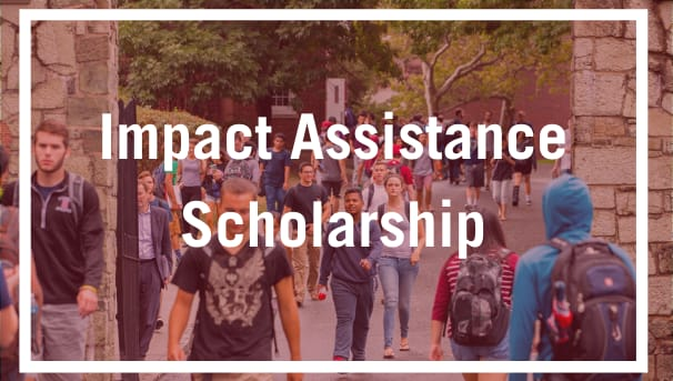 Impact Assistance Scholarship Image
