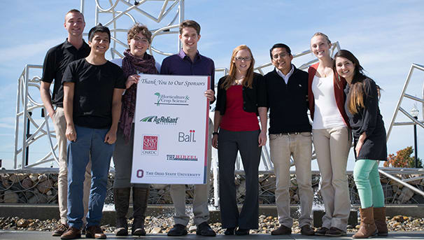 Horticulture and Crop Science Department Graduate Research Retreat Image
