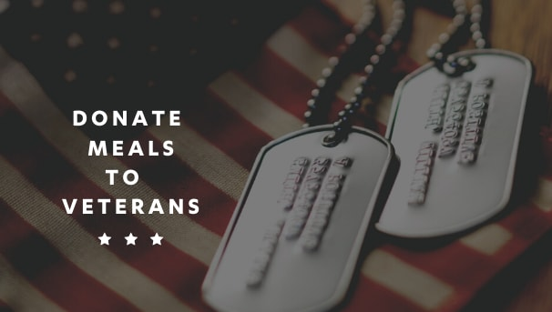 Donate a Meal to a Veteran Image