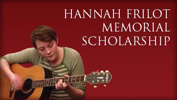 Hannah Frilot Memorial Scholarship Image