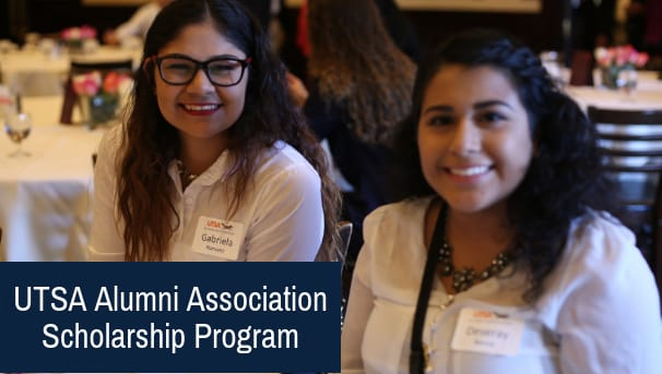 UTSA Alumni Association Scholarship Program Image