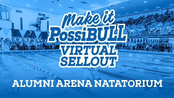 Make It PossiBULL Virtual Sellout Alumni Arena Natatorium