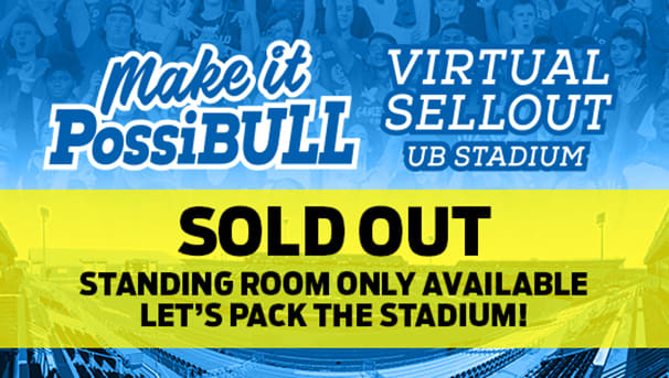 Make it PossiBULL Virtual Sellout UB Stadium