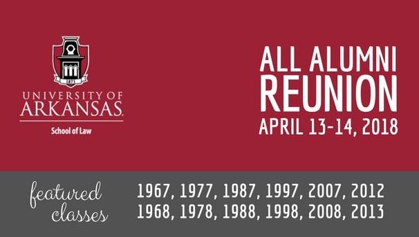School of Law All-Alumni Reunion Class Challenge Image