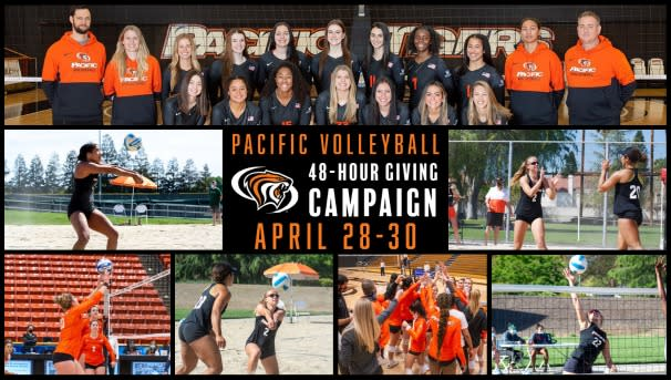 Pacific Volleyball 48-Hour Giving Campaign Image