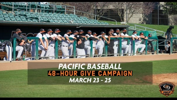 Pacific Baseball 48-Hour Campaign Image