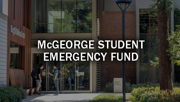 McGeorge Student Emergency Fund Image