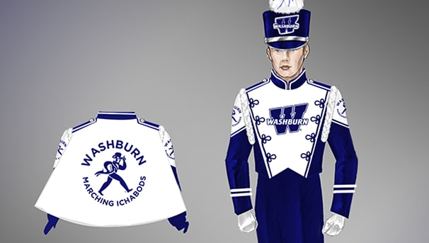 Marching Bods: New Uniforms for the Marching Blues Image