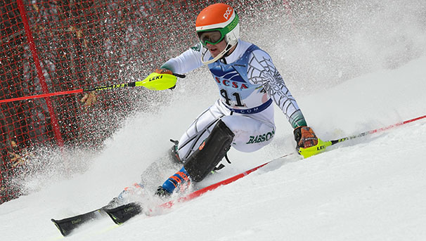 Babson Men's and Women's Alpine Skiing Image