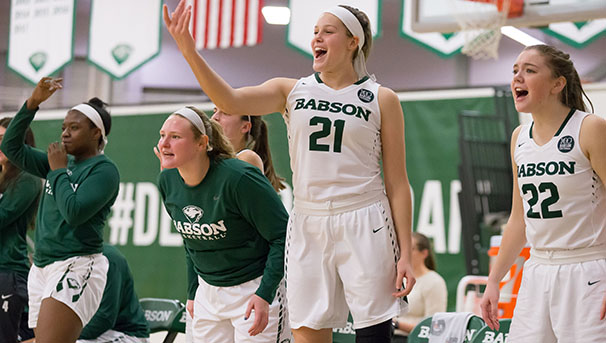 Babson Women's Basketball Image