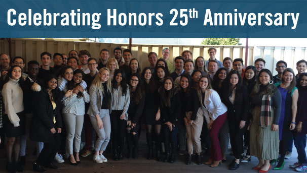 Babson Honors Program 25th Anniversary Image