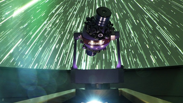 The Brown Planetarium Star Projector