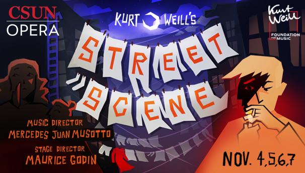 CSUN OPERA: Street Scene by Kurt Weill Image