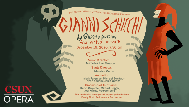 Gianni Schicchi by Giacomo Puccini, An Animated/Virtual Opera Image