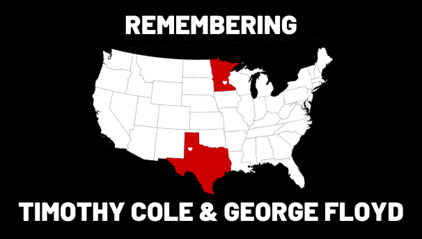 Remembering Timothy Cole & George Floyd Image