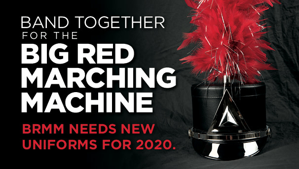Band together for the Big Red Marching Machine! Image