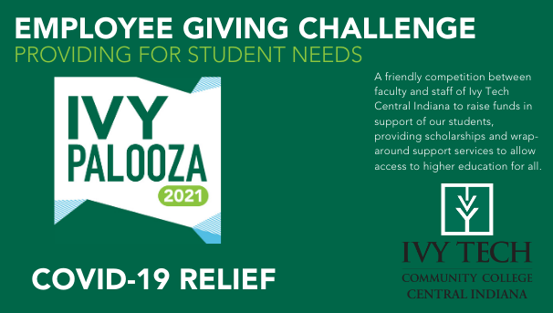 Central Indiana Ivy Palooza Employee Giving Challenge 2021 Image