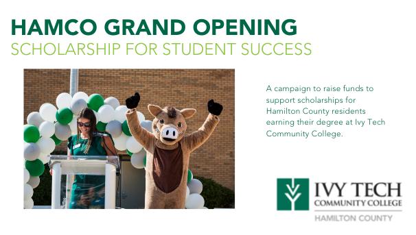 HamCo Grand Opening Student Scholarship Image