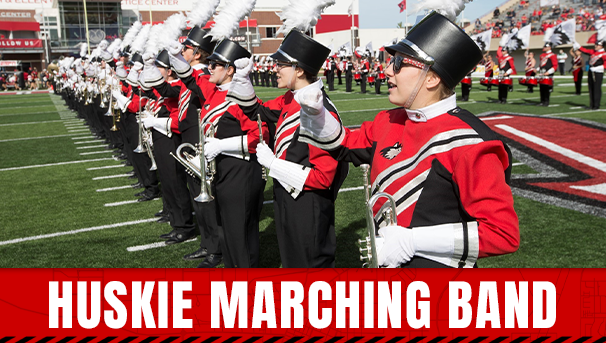 NIU Marching Band—Drumline Campaign Image