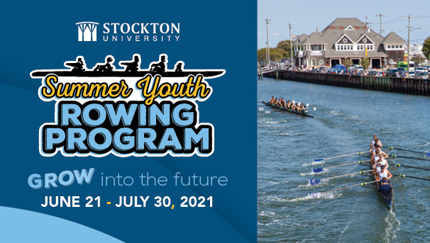 Stockton University Summer Youth Rowing Program Image