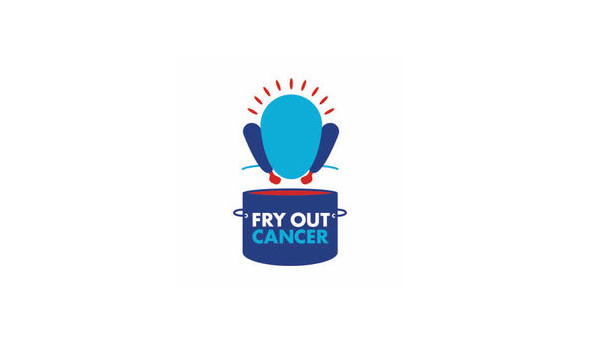 Fry Out Cancer Logo