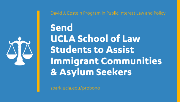 Send UCLA Law Students to Assist Vulnerable Communities Image