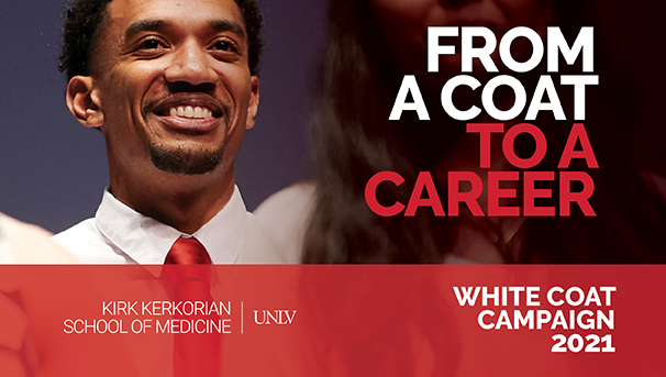 White Coat Campaign 2021 to Create a Class of 2025 Scholarship Image