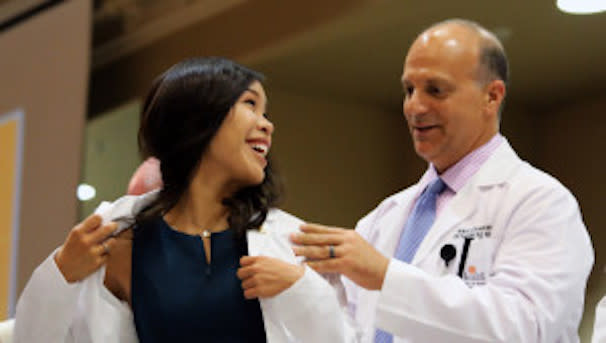 2018 McGovern Medical School White Coat Sponsorship Campaign Image