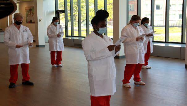 College of Nursing: Sponsor a White Coat 2021 Image