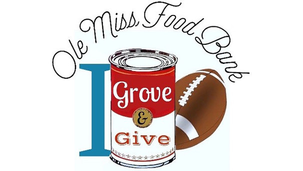 I Grove and Give for the Ole Miss Food Bank! Image