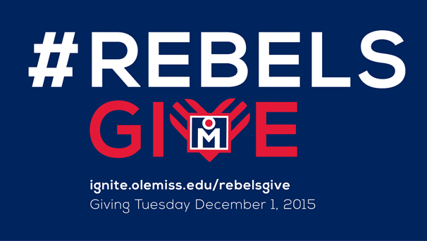 #RebelsGive on #GivingTuesday Image