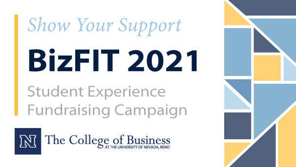 Show Your Support BizFIT 2021 Student Experience Fundraising Campaign - College of Business logo