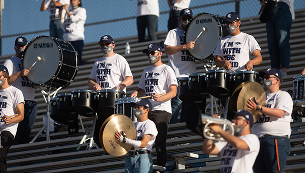 Wolf Pack Marching Band Image