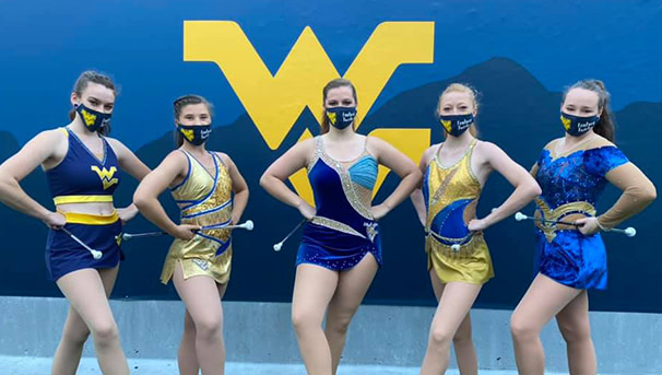 Support the WVU Feature Twirler Scholarship Fund! Image