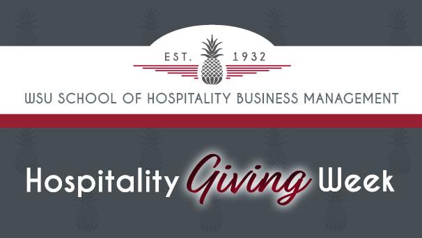 WSU Hospitality Giving Week