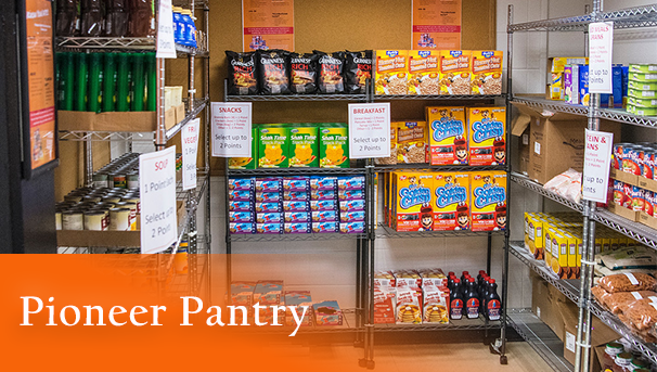 Pioneer Pantry - Goal Exceeded - Thank You! Image