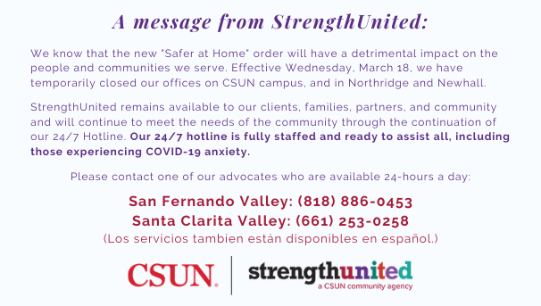StrengthUnited COVID-19 Update