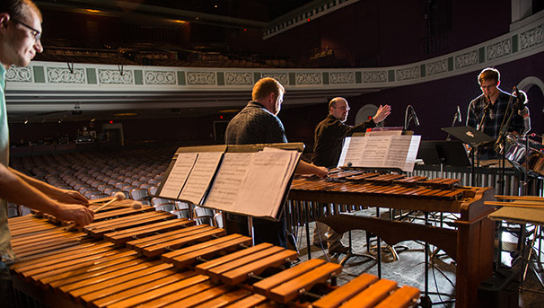 photo of School of Music Percussion