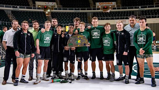 photo of OHIO team from rival win last year