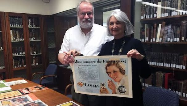 Dean Sarna teaches a Fiat Lux course about golden age of smoking and the fight to end it.