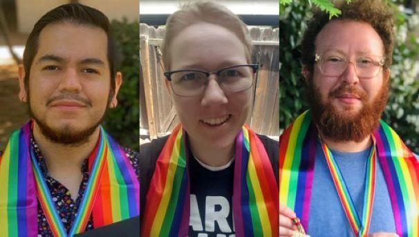 Rainbow Graduation Celebration Image