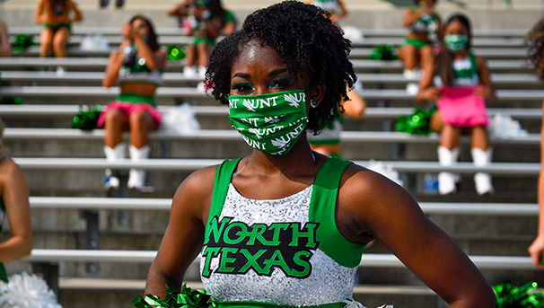North Texas Cheerleader
